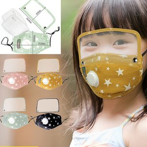 Children With Breathing Valve Mask Protection Dustproof Eye Protection PM2.5 star eye protection Mask With 2pcs filter sheet HH9-3200