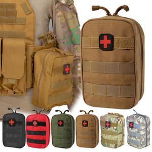 Campeggio di sopravvivenza First Aid Kit sacchetto militare tattico Medical vita PackEmergency Esterni campeggio in tessuto Oxford Molle Pouch