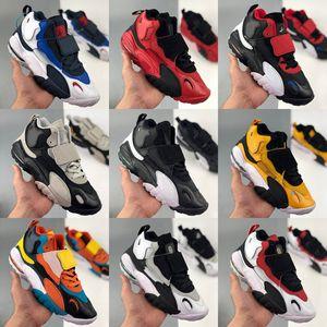 2020 Scottie Pippen Femmes Hommes Basketball Chaussures de sport Speed Turf Jaune Noir Hommes sport Formateurs paniers uptempo Sneakers off