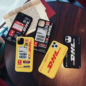 fashion DHL soft case for iphone 11 pro x xs max xr 8 7 6 6s plus phone cover matte silicone Cartoon coque