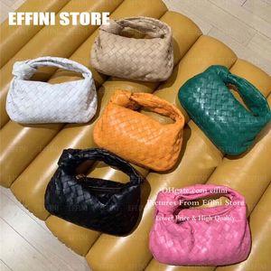 2020 Горячие проданные проданные женские сумки роскоши дизайнеров дизайнеров сумки мешки Effini Mini Jodie Cloud Hobo мода сумка на натуральную кожу