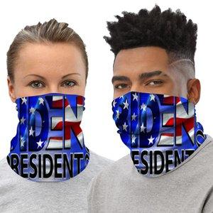 Biden Trump Magic Bandana Fular 23 Stiller ABD Seçim Çok Fonksiyonlu Anti Toz Koruma Eşarp Yıkanabilir Bisiklet Maskeleri OOA8292 Maske