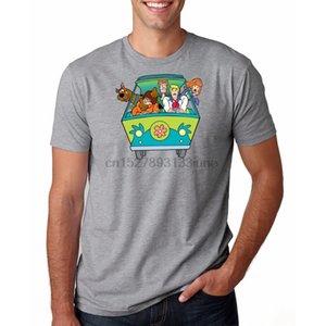 Человек Scooby Doo тенниска O-шея Camiseta Горячей продажа новый способ прибытия 3D Печать Повседневного лето с короткими рукавами