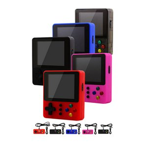 Handheld Game Console K5 Mini Retro 500 In 1 Double Player Portable 3 inch LCD Gamepad Video Game Player