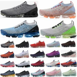 2020 Almofada Fly VPM Knit 3,0 Running Shoes Triplo Preto Safari South Beach Vast Grey Dusty Cactus Ouro Homens Mulheres Runner instrutor das sapatilhas