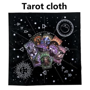 Tarot Tarot Divination Nappe Professional Card 12 Constellations Astrologie Tablecloth Divination Accessoires bureau Couverture Tarot bbyxLy