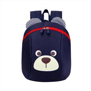 Age 1 3 Toddler Backpack Anti lost Baby Bag Cute Animal Dog Children Backpack Kindergarten Bear School Bag Mochila Escolar YY