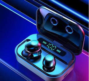 M7 TWS Wireless Bluetooth V5.0 Earphones Touch Version Headphones Handsfree Sports Waterproof 8D Stere1