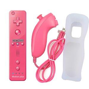Remote-Spiel Griff-Controller Gamepad für Wii mit Handschlaufe mit Bewegung plus Box 3 in 1 Joystick für TV Spielcomputer 01
