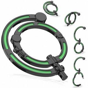 Multifuncional sin bloqueo Mosquetón Gancho giratorio camping Ganchos clips cielo azul, verde, blanco, Negro L4z4 #