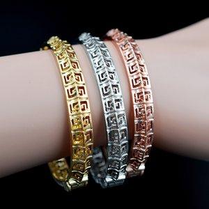 ZEA Уважаемой мода ювелирных изделий ювелирных изделий Манжеты браслеты браслеты для женщин Дубая высокого качества рождения Выводов для партии свадьбы