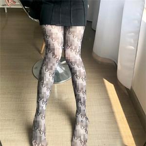 Tam Küçük Klasik Harf Külotlu çorap Kırmızı Siyah İpek Tayt Nigh Kulübü Seksi Tayt Elastik Mesh Çoraplar Kadın Elbise çorap
