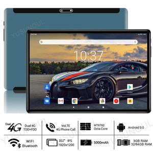 Type-C Port Fast Charging New Android 9.0 10 inch tablet 4G LTE 3+32 64GB ROM 8 Core 1920x1200 WiFi GPS Netflix Tablette 10.1""