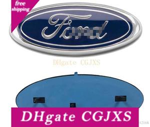 2004 -2014 Ford F150 rejilla frontal de la puerta posterior del emblema, oval 9 X3 0.5, etiqueta Placa Placa de características también se adapta para F250 F350 Edge Explorador de Guardabosques