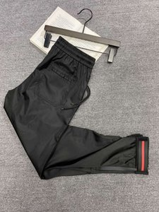 2020 Italia principio de otoño de nylon táctica del bolsillo de cintura elástica pantalones casuales mujeres de los hombres pantalones casuales Pareja zdlp0813 libera la nave