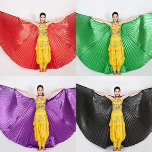 Iriyo Adult 360 Costume indiano Costume indiano Golden Silver Dance Dance Wings Belly Dance Wings