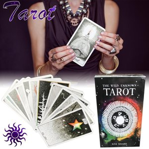 78 Sheets selvagem Tarot Mistérios animal Natural Board Game World Tarot da Oracle Card Games For Lovers yxlijF dh_niceshop