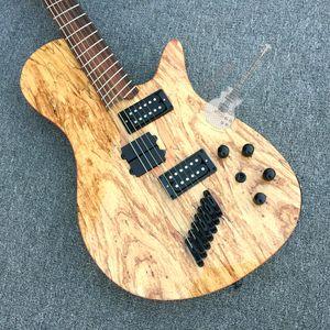Custom 5 string bass guitar