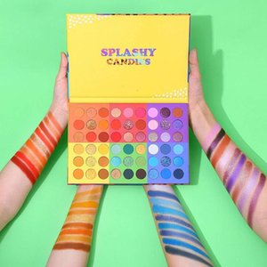 Long-lasting 54 Colors Matte & Shimmer Eye Shadow Palette Cosmetics Bright Colors Waterproof Easty to Wear Eye Makeup DHL Free