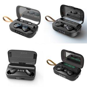 صحيح اللاسلكية سماعات الأذن بلوتوث 5.0 TWS سماعة الأذن أفضل الضوضاء الغاء اللاسلكية البراعم مع ميكروفون LED البطارية العرض شحن كاس # 8841