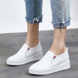 Weideng punta rotonda fondo spesso scarpe Lefu suola di gomma antiusura elastico non antiscivolo duratura Tacchi elastico basso Mocassini piatti