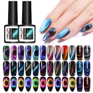 LEMOOC Magnetic prego 9D Cat Eye Gel UV Polish Magnet Laser Soak Off Gel UV Nail Art Verniz brilhante verniz Sky Effect