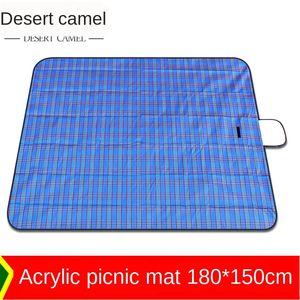 Camello del desierto de acrílico de picnic comida bayeta estera de picnic al aire libre de la estera 22 7FSnS yuanes Meal