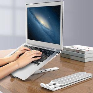 Supporto per notebook Pieghevole supporto per laptop portatile Supporto per notebook per MacBook Pro Air HP LapDesk Computer Cooling Bracket Riser