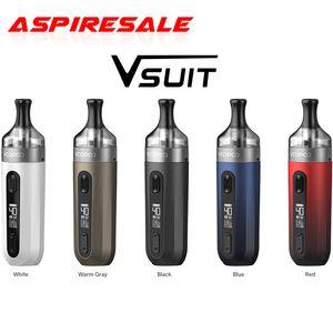 Authentic VOOPOO V.SUIT Pod Vape Kit 40W 1200mAh Battery V SUIT 2ml Cartridge PnP-TR1 PnP-TM2 Coil Electronic Cigarette Vaporizer