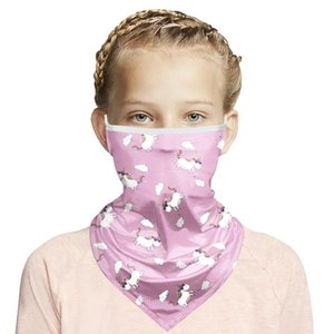5 color 3D Magic Dinosaur bandana Kids Washable Protection Headwear Magic Scarf Outdoor Multifunctional Running Bicycle scarf DHD800