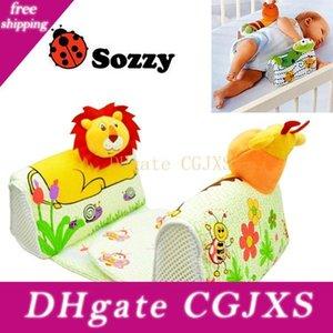인 동물 아기 모양의 베개 아기 베개 안티 롤오버 아기 안전 안티 롤 베개 수면 헤드 포지셔너