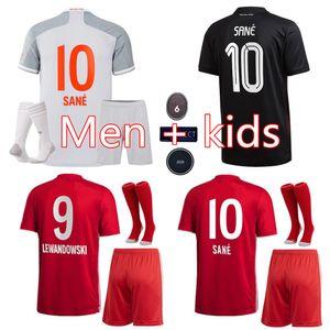 Bayern de Munique 6 xícaras Campeões 2020 2021 SANE LEWANDOWSKI GNABRY camisa de futebol camisa MULLER futebol 120 MUNCHEN kit 20 21 Homens Crianças set