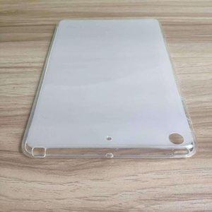 cgjxs macio TPU caso capa protetora Voltar Para Ipad Mini 5 2019 Ipad Mini 1 2 3 4 Black Crystal