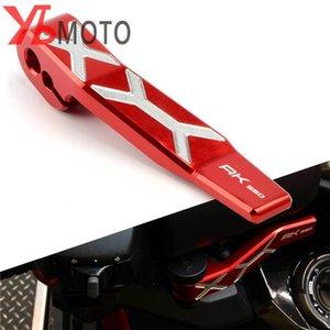 Motosiklet Aksesuarlar El Fren Kolu Motosiklet Park Freni Kolları KYMCO AK550 AK 550 2020-2020 Kırmızı siyah altın titanyum için