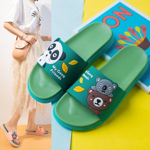 2020 Donna sveglia pantofole Estate Interni Esterni Koala Pantofole silenzioso antiscivolo deodorante morbida Donne Beach Outdoor Shoes