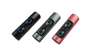 Cgjxs X8 Tws Touch Control 800mAh charge de la batterie Boîte Bluetooth 5 .0 sans fil IPx6 12pcs Siri imperméable / Lot
