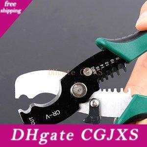 Venda quente Multi-Tool 8 Fio Stripper Cabo de corte Scissor descascamento alicates de corte 1 Ferramentas manuais 0,6 -4 .0mm
