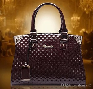 pu cowhide!!! Fashion women handbag vintage genuine leather HD151207-D shoulder Big bags bag women Iwhrq
