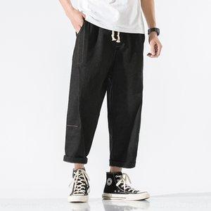 Bkwn4 cortos de herramientas pantalones sueltos pantalones cortos delgados ocasionales de los hombres de los hombres se divierten los pantalones de verano de cinco puntos de marca de moda de playa gDuTi 7 siete puntos sartén