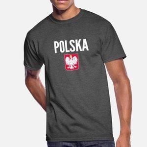 Copa de Futebol Poland Soccer Jersey Polska mundo camisetas Homens Criar 100% algodão Euro Tamanho S-3xl Novidade Anti-rugas de Moda de Nova Primavera