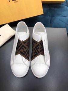 F mens scarpe di qualità scarpe da corsa scarpe da uomo morbide uomini di lusso inferiori casuali cotone design marrone sneakers nave veloce