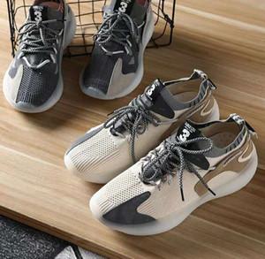 resiliencia DNwTd Sole cómoda pies elevar volar informal resiliencia Q0217-071403 Sole cómodos zapatos deportivos pie de fondos de los hombres tejidas