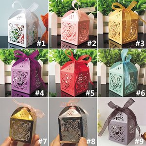 Wedding Favors Gift Boxes Candy Box Party Favors Hollow Wedding Candy Box Favor Chocolate Boxes candy bags cake boxes WX9-603