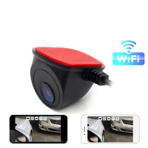 Wireless Wifi Reversing Blind Spot Side-view Wide-angle Night Vision Camera Phone Display Video Surveillance car