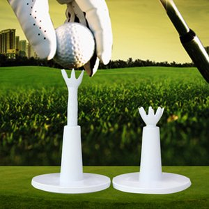 2Pcs pack Driving Range Outdoor Training Aids Adjustable Height Holder Practice Durable Golf Tee Ball Sport Low Friction Rubber