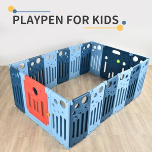 TW2007127 Children's play fence Playpen for kids without installation 68CM in height double insurance