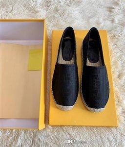 Printemps / été 2020 nouvelles chaussures de pêcheur, chaussures femmes élégantes toutes les chaussures de sport confortables tissés à la main semelle extérieure