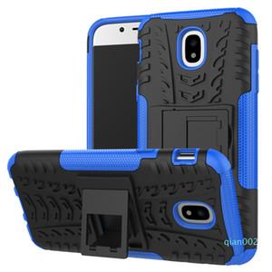 Dazzle hybride Auswirkung Rugged Rüstungs-Kasten für Samsung Galaxy J7 Max J3 J5 Pro 2017 C7 C9 S8 Plus-Stoß- Abdeckung mit Kickstand