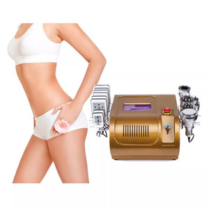2020 Whole Sale Kim 8 Slimming System Lipo Laser Ultrasound Cavitation use Body shaping Body massage loss weight machine Free shipping