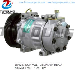 Alta calidad R134A SD7H15 ac auto compresor para Saab 9000 2,0 2,3 96-98 4758181 4868659